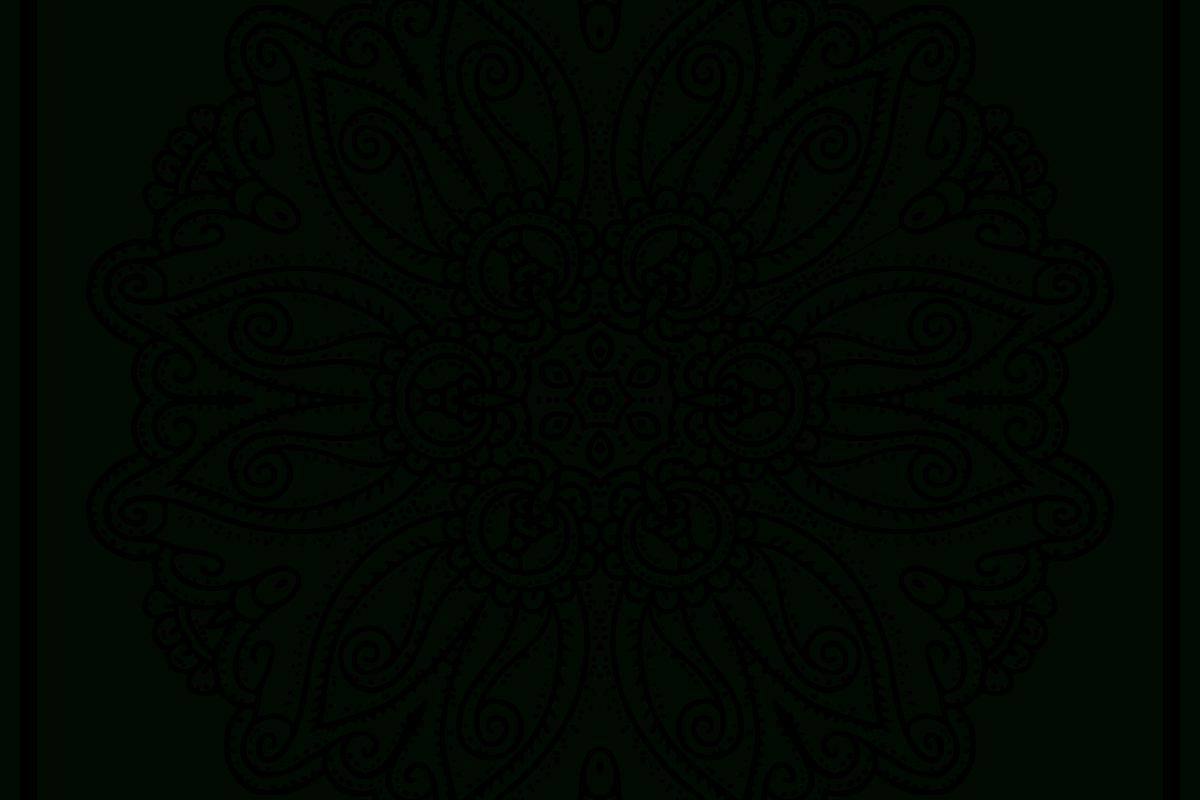 Easy Free Mandala Coloring Page Hand Draw Designs serapportantà Mandala Fée