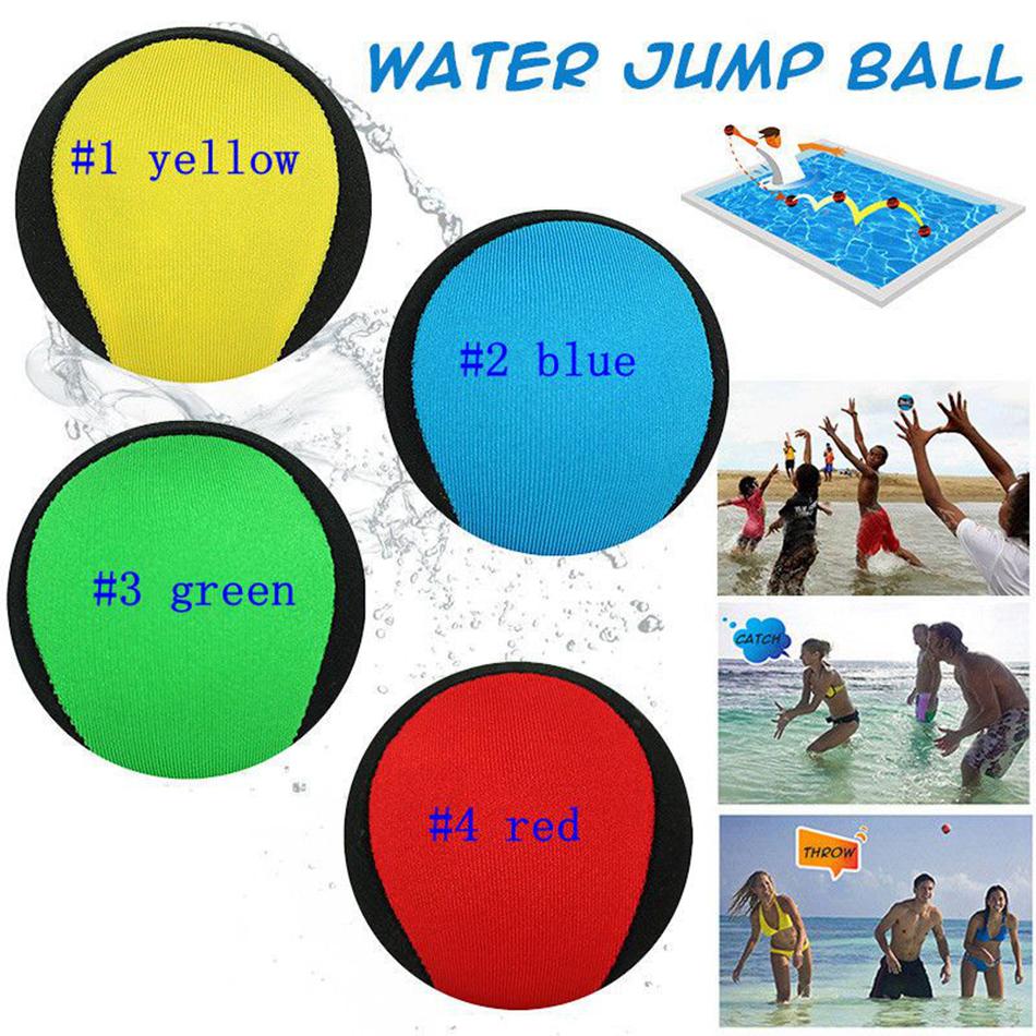 Eau Saut De Balle Premium Ballon Bondissant Tpr Couleur Pool Ocean Beach  Game En 4 Couleurs Ljjm14 concernant Jeux De Saut Dans L Eau