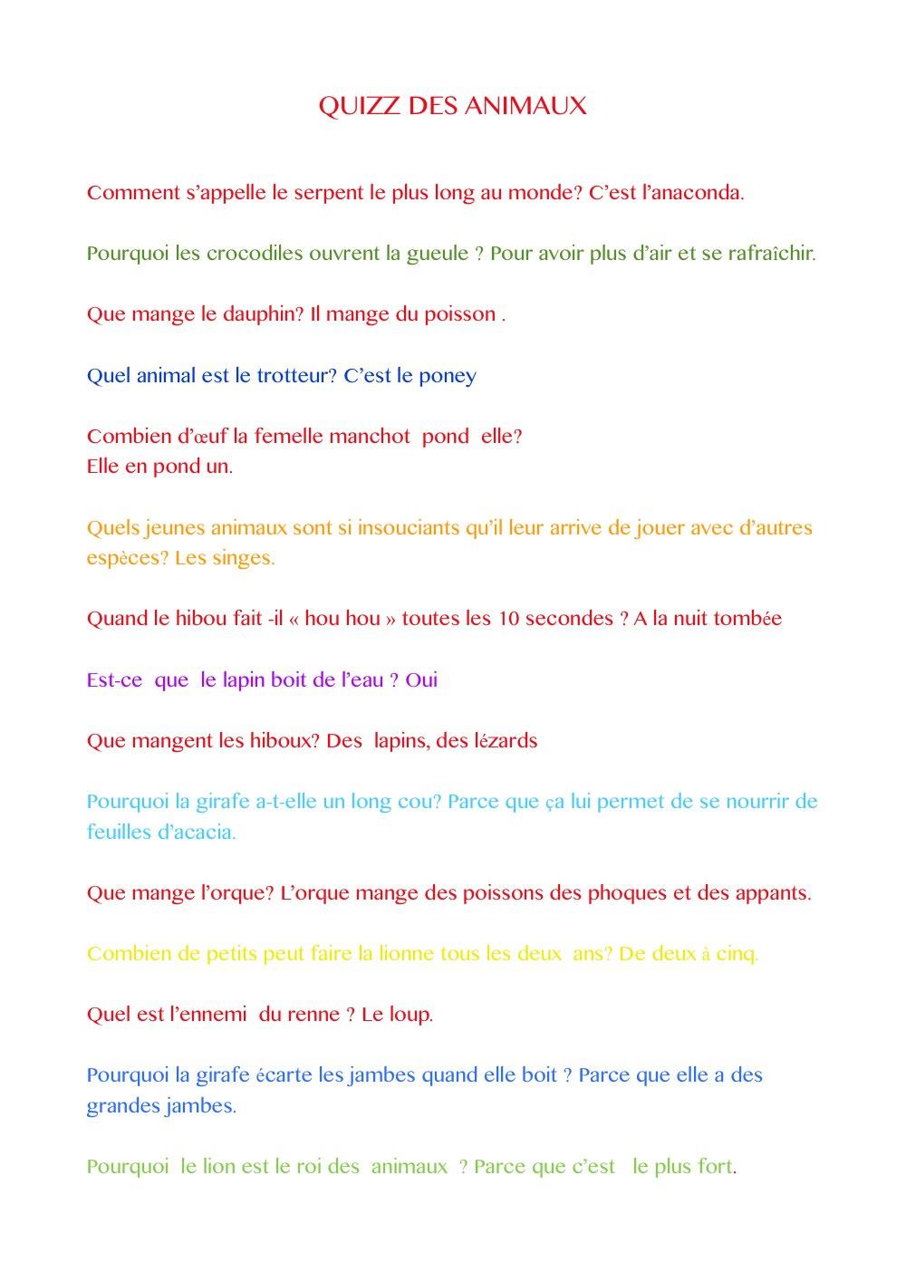Ecole Maternelle Et Primaire Saint Valérien Tournus (71 concernant Quizz Pour Maternelle
