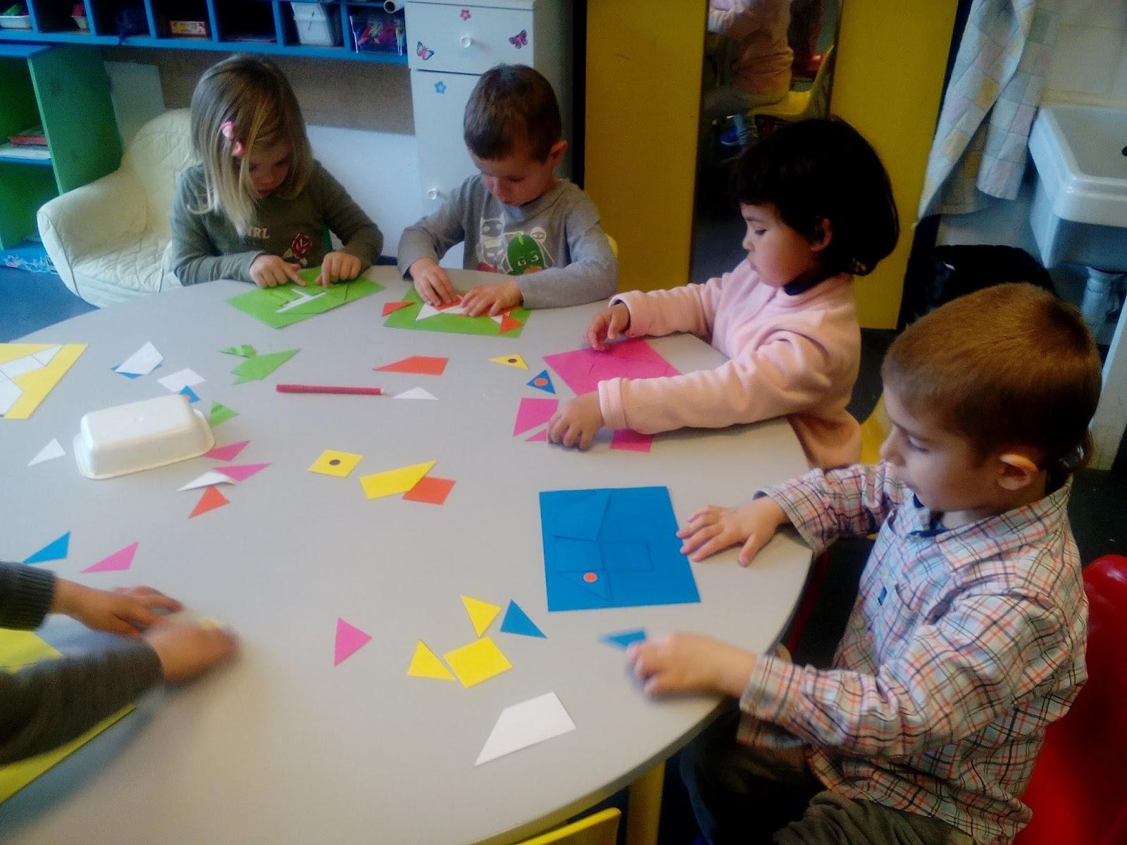 Ecole Notre-Dame Petite Et Moyenne Section: Tangram pour Tangram Moyenne Section