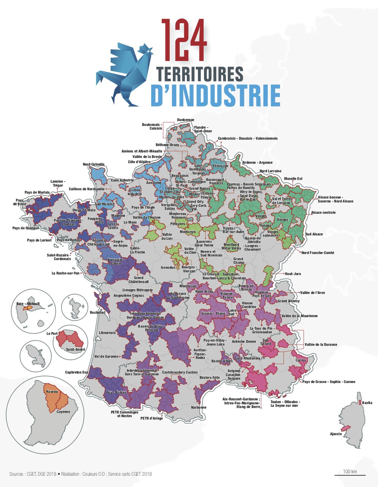 Economie En Outre-Mer : La Guadeloupe, La Guyane Et La intérieur Département D Outre Mer Carte