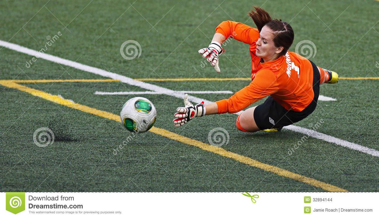 Économies De Boule De Gardien De Femmes Du Football De Jeux avec Jeux De Gardien