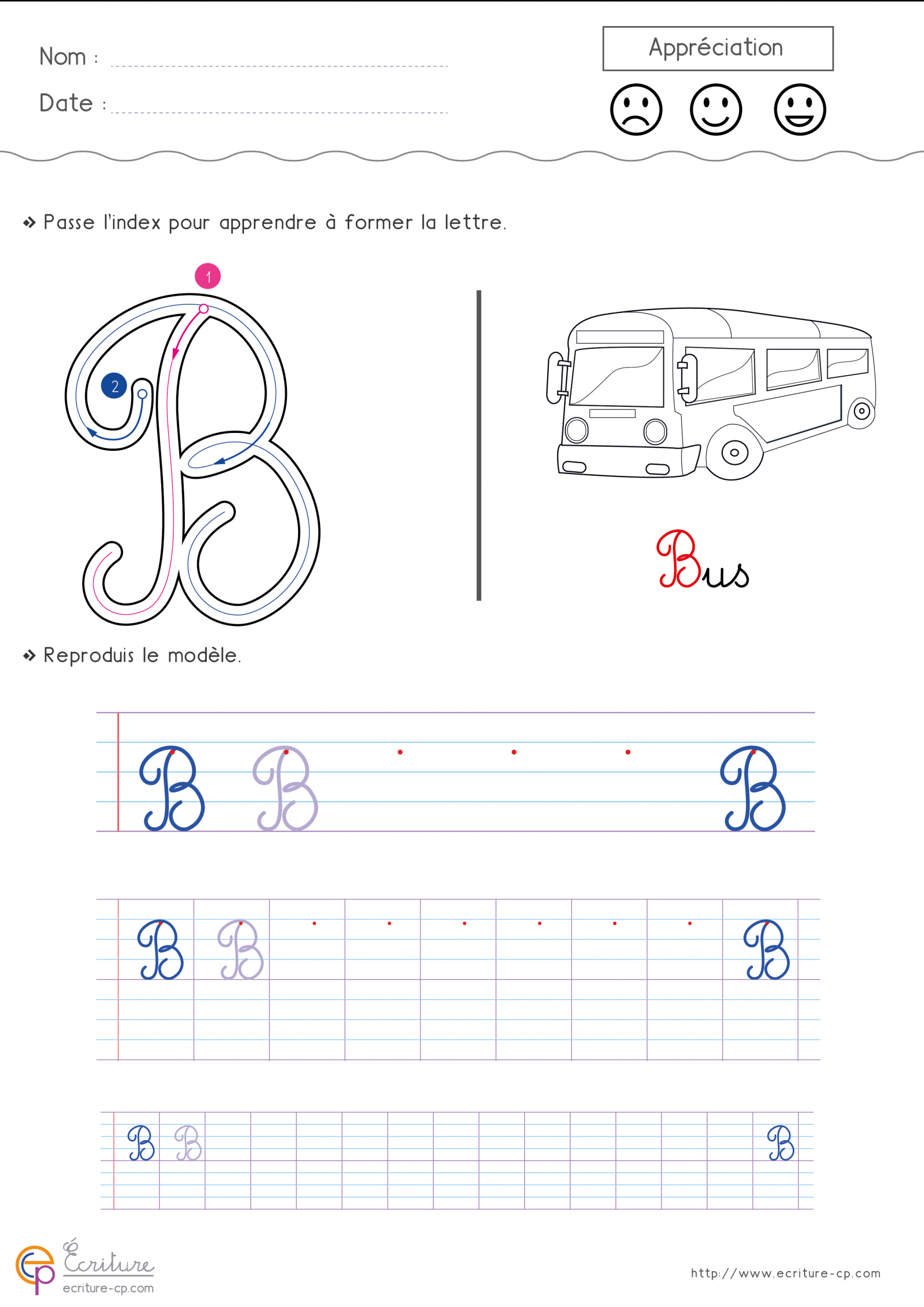 Écrire L'alphabet Majuscule Cursive Cp Ce1   Fiche D tout Apprendre À Écrire L Alphabet