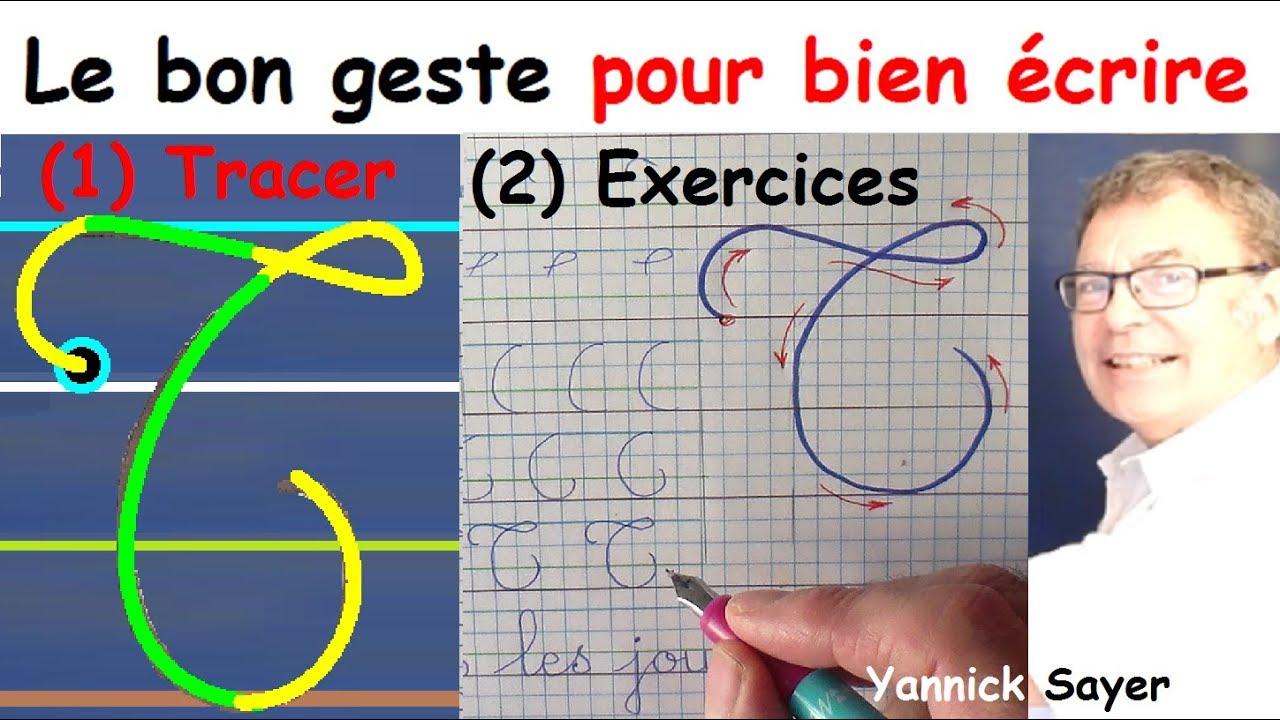 Ecriture Cursive Français Au Cp Ce1 Ce2 : La Lettre Majuscule T à Cahier Majuscule