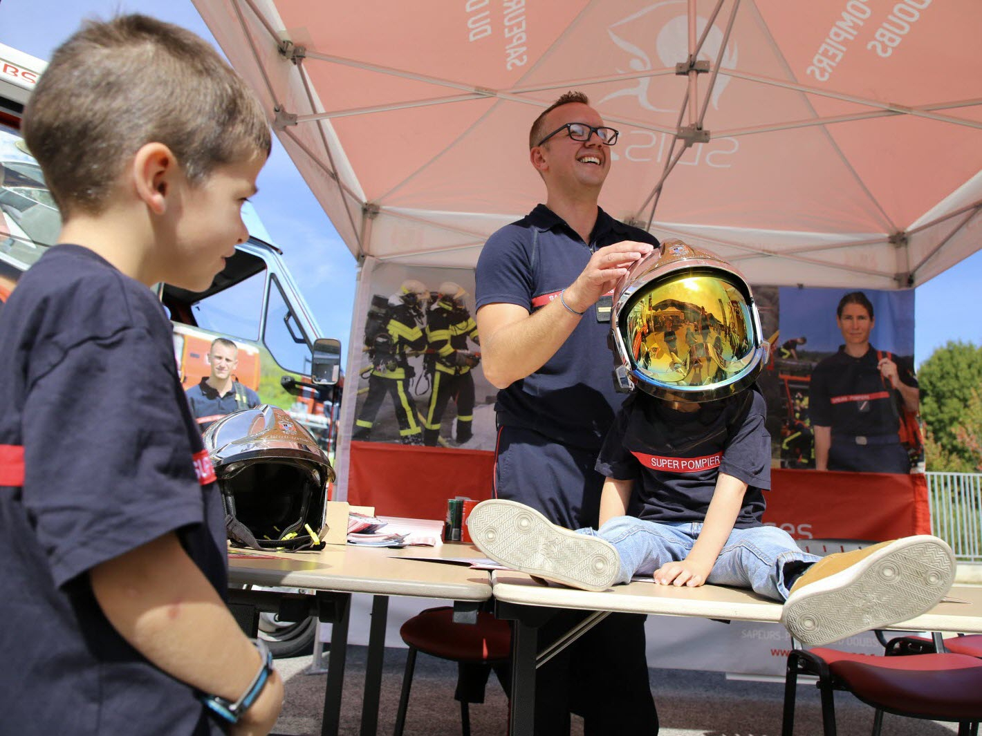 Edition Besançon | Portes Ouvertes Des Pompiers : Pas D'âge encequiconcerne Jeux Gratuit De Pompier