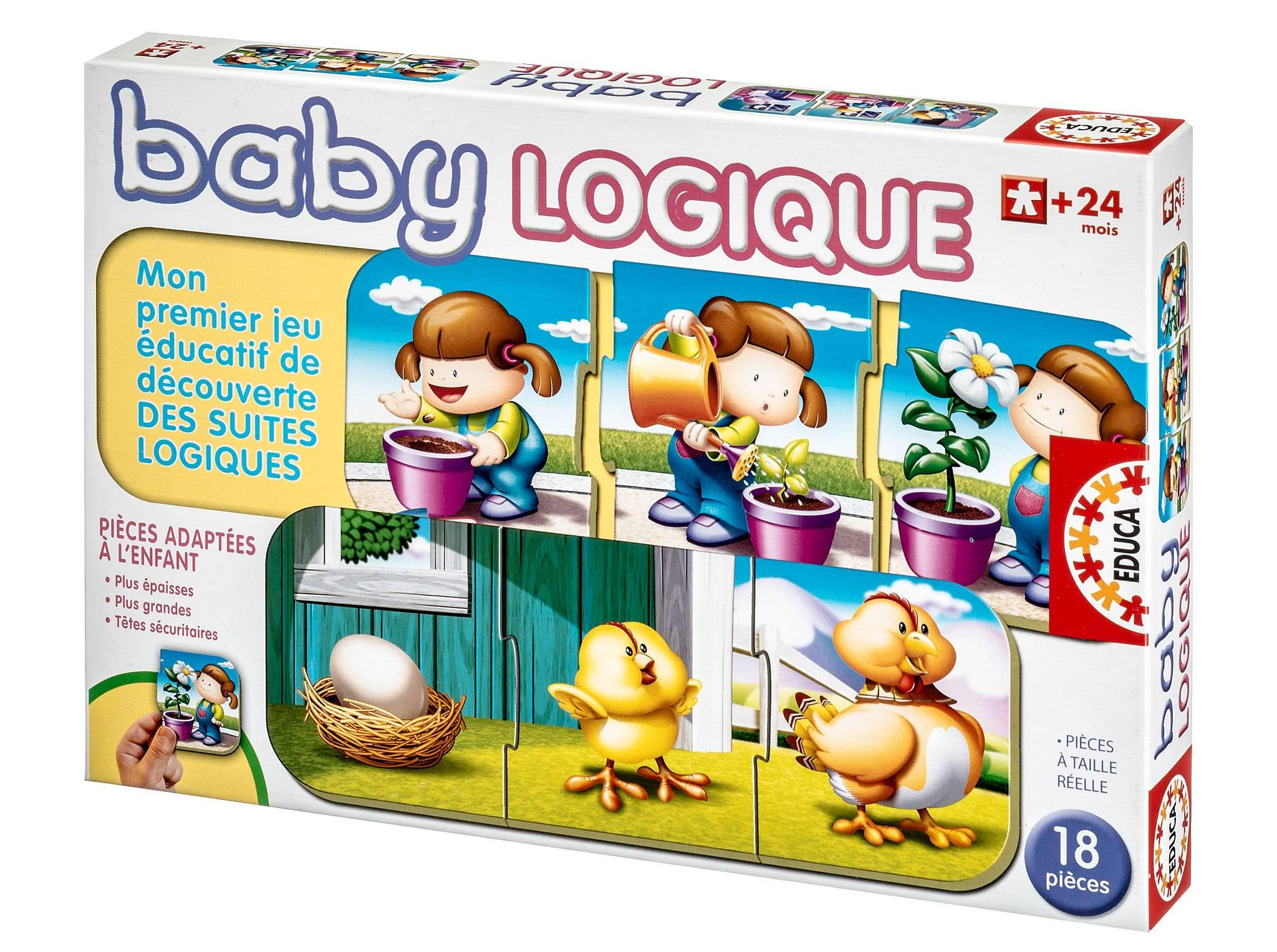 Educa Baby Logique | Protégez-Vous.ca concernant Jeu Logique Enfant