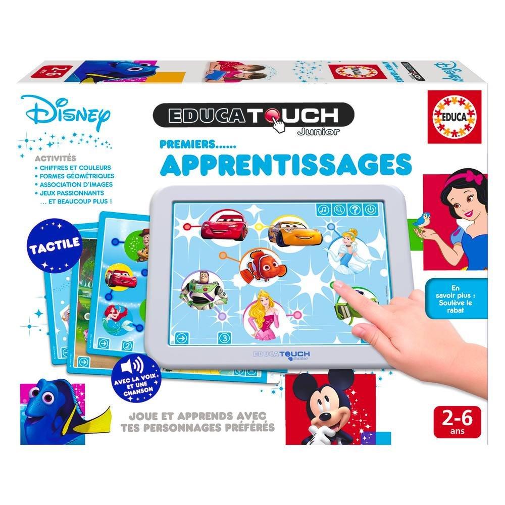 Educa Touch Premiers Apprentissages Disney | Jeux Educatifs intérieur Jeux Educatif 2 Ans