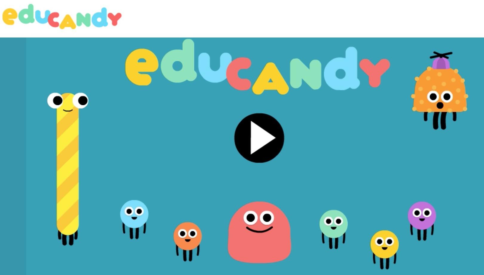 Educandy. Créer Des Petits Jeux Interactifs Pour Jouer Avec encequiconcerne Jeux Pédagogiques En Ligne