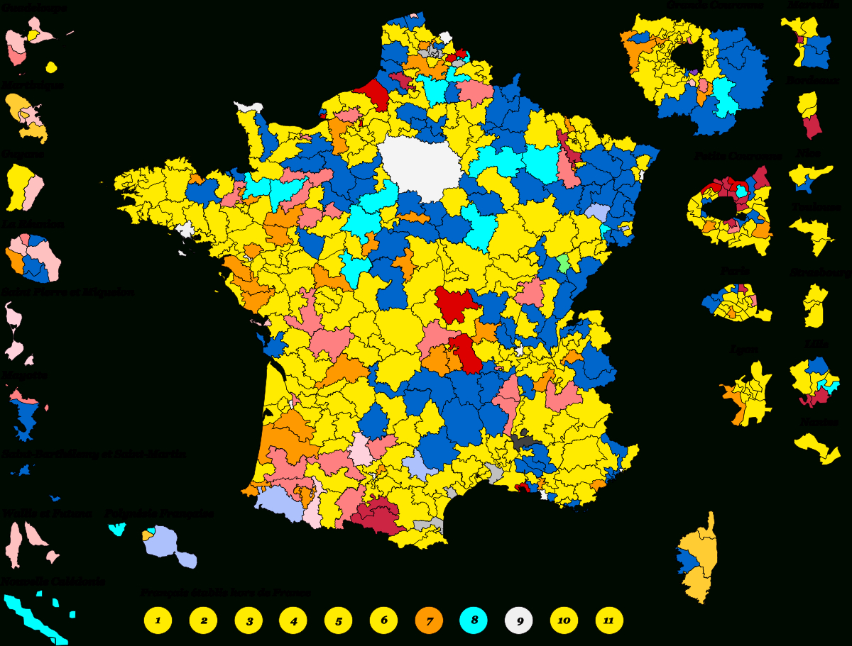 Élections Législatives Françaises De 2017 — Wikipédia avec Carte Des Départements De France 2017