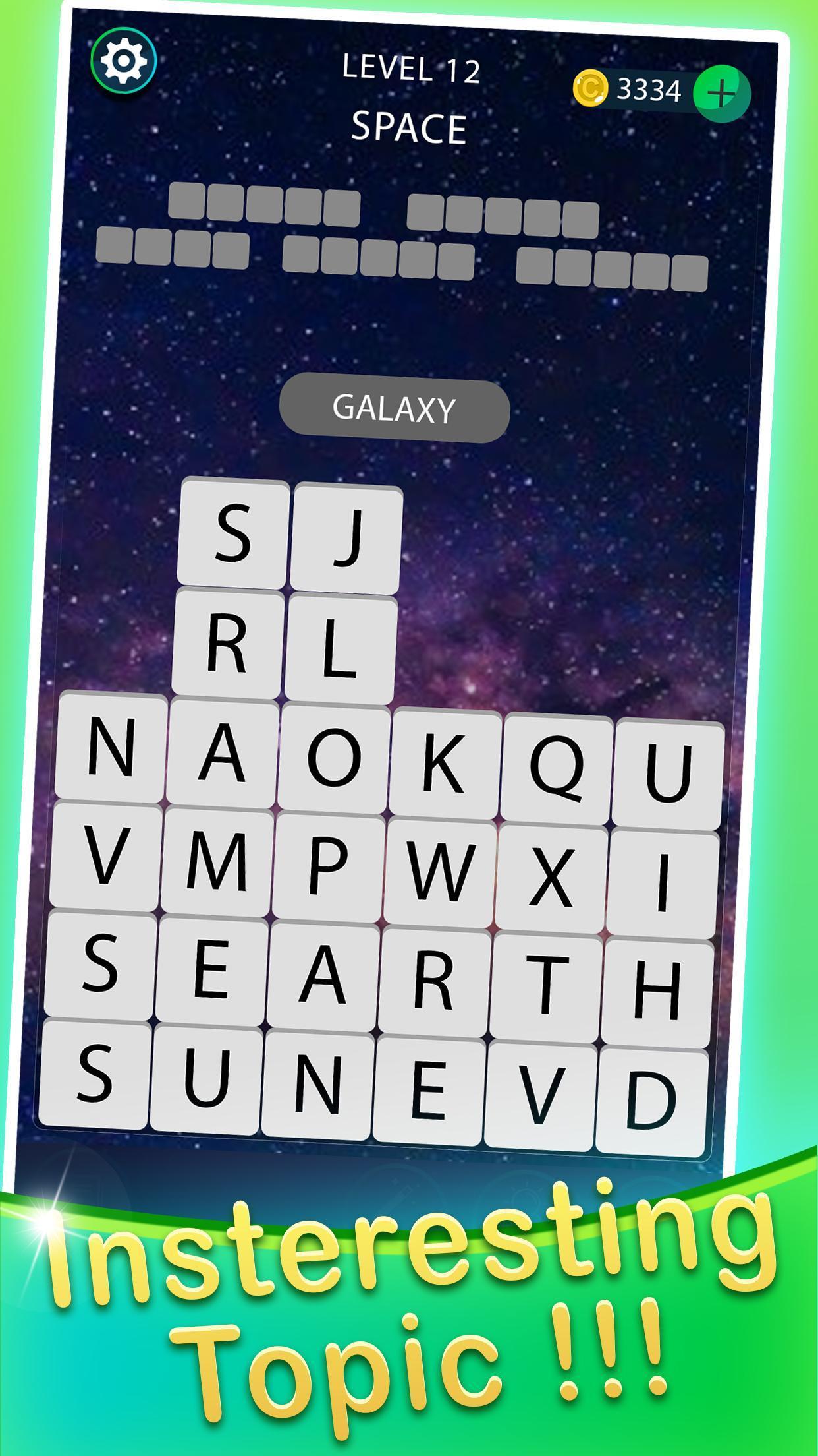 Empiler Mot Chercher - Mots Croisés Jeux Pour Android encequiconcerne Chercher Les Mots