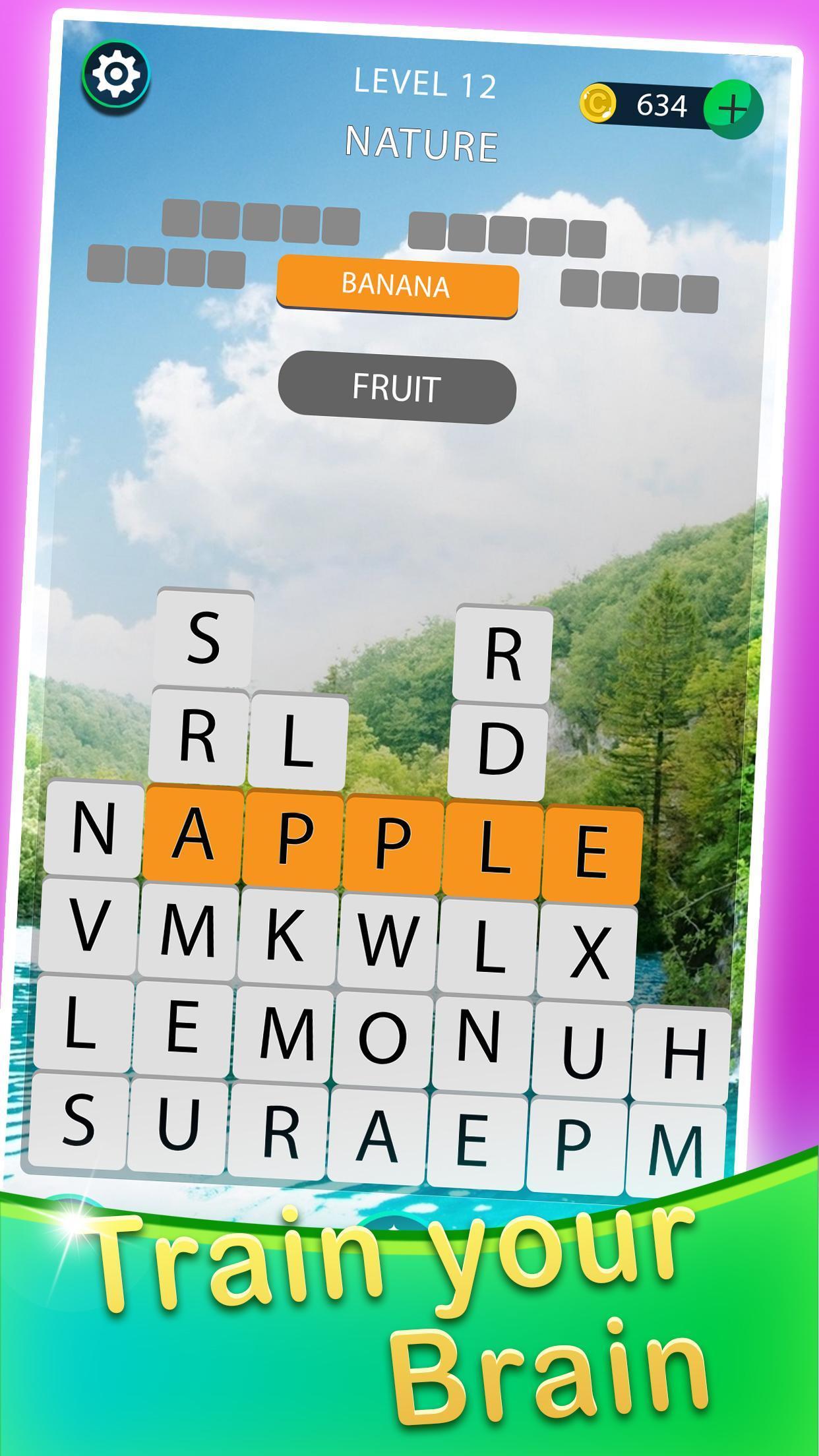 Empiler Mot Chercher - Mots Croisés Jeux Pour Android pour Jeux De Mots A Chercher
