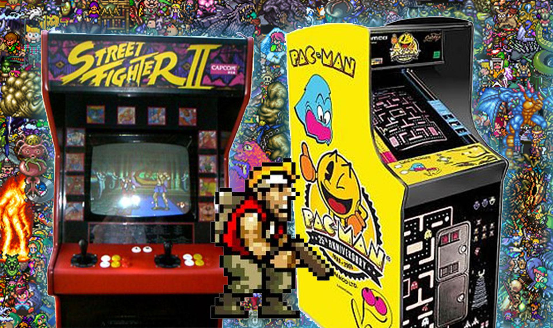 Emulateur De Borne Arcade Pour Les Jeux Anciens – Le Site Du avec Jeux 3 À La Suite