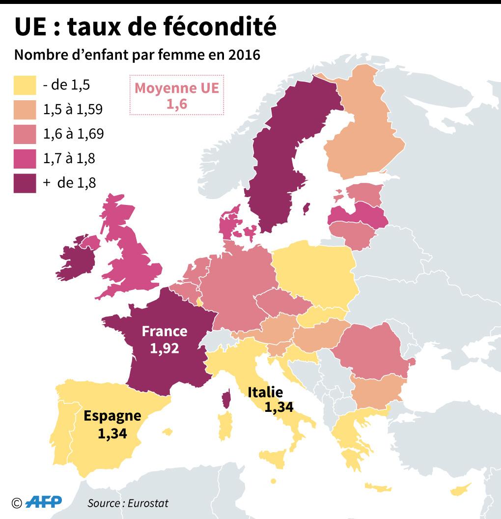 En Allemagne, L'envolée Des Naissances En 2016 Grâce Aux intérieur Carte De France Pour Les Enfants