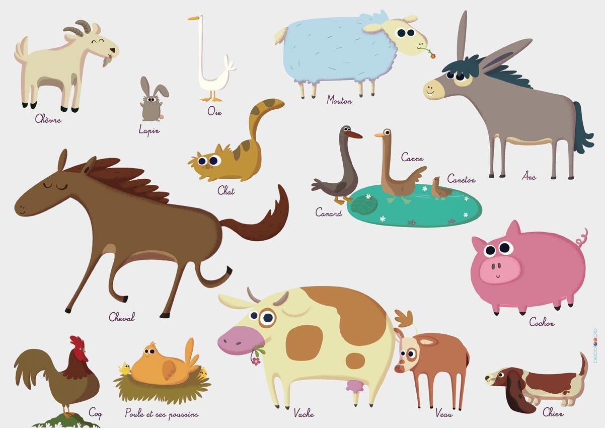 En Avant Pour La Ferme ! Découvrez Les Noms Des Animaux De tout Apprendre Le Nom Des Animaux