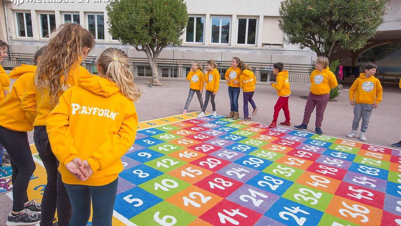 En France À Nice - Jeux Éducatifs Pour Enfants, Jeux De Plein Air -  Marquage Au Sol Thermocollant concernant Jeux Enfant Educatif