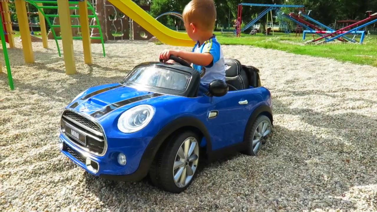 En Jeu : 1 Voiture Pour Enfants Mini Cooper 12 V De 189 avec Jeux De Mini Voiture