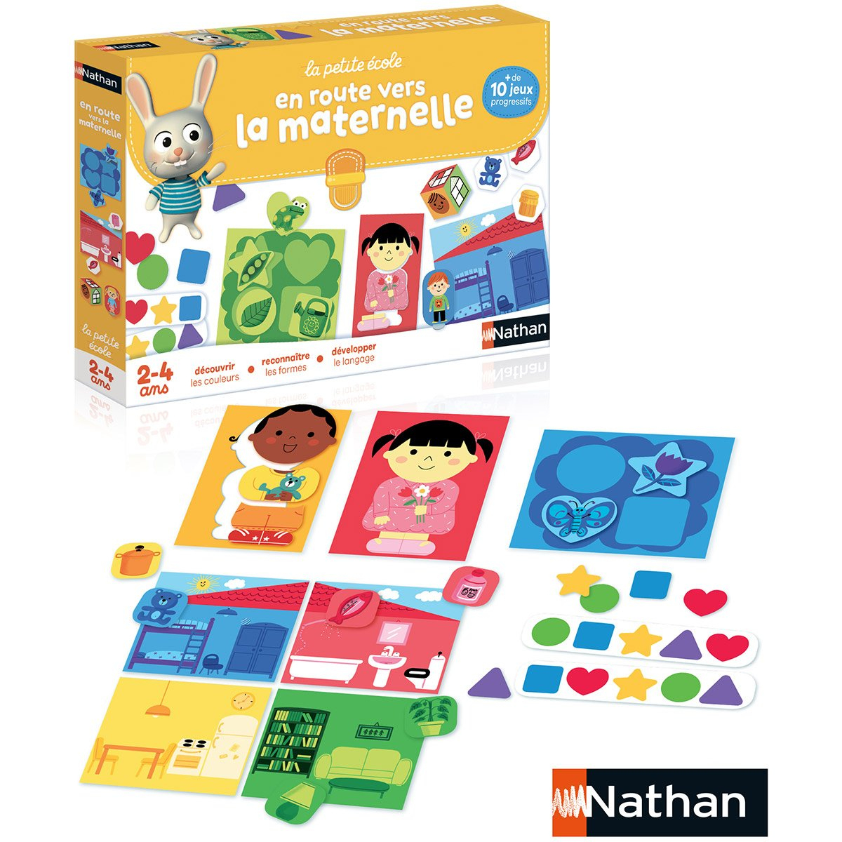 En Route Vers La Maternelle - Jeux De Société Et Puzzles pour Jeu Educatif Maternelle