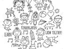 Enfants Dessin École Maternelle Enfants Heureux Jeu Illustration Pour  Enfants Enfants École Maternelle Icon destiné Jeux Enfant Maternelle