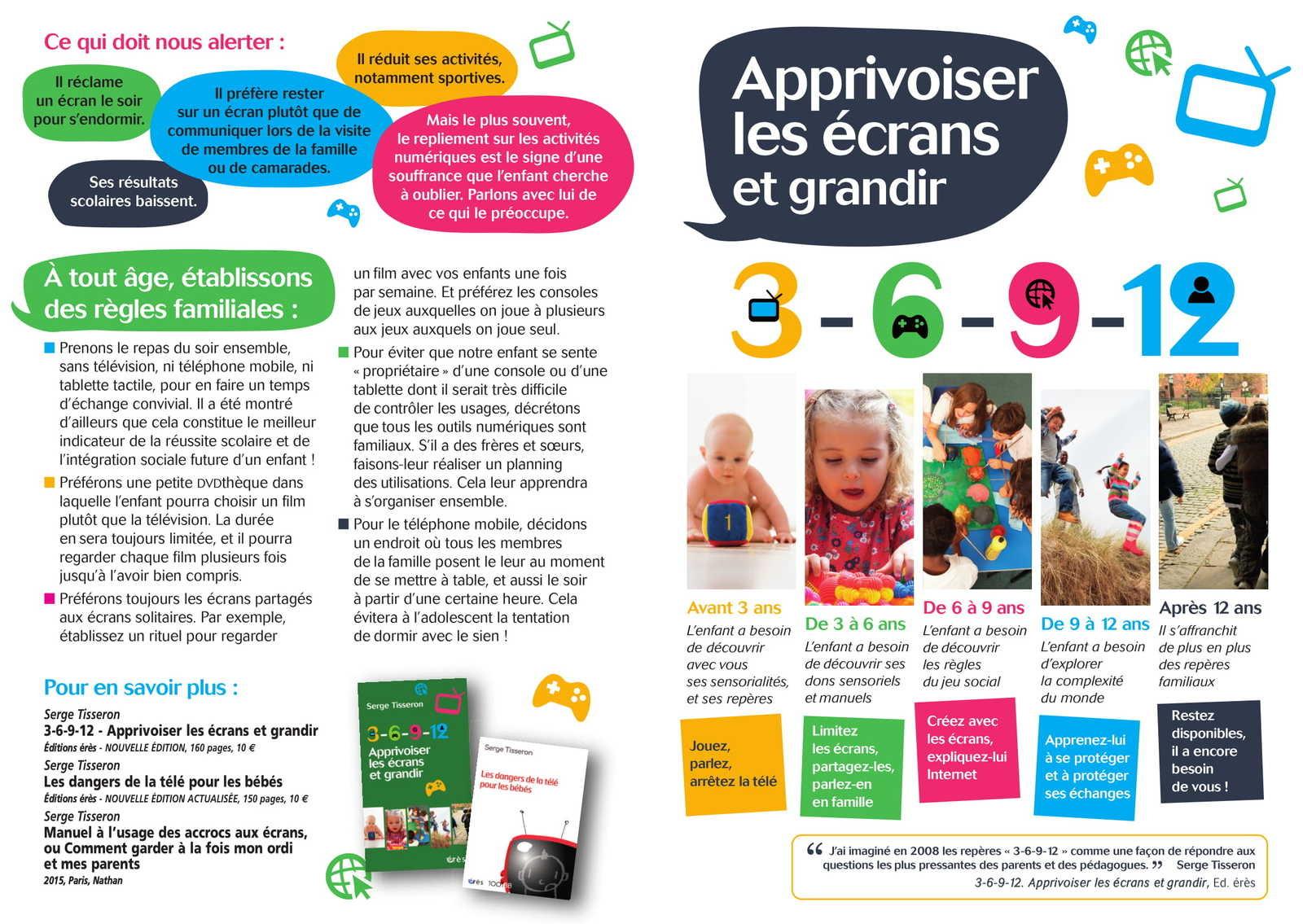 Enfants Et Écrans : La Règle Du 3-6-9-12 Qu'il Faut avec Jeux Pour Enfant 6 Ans