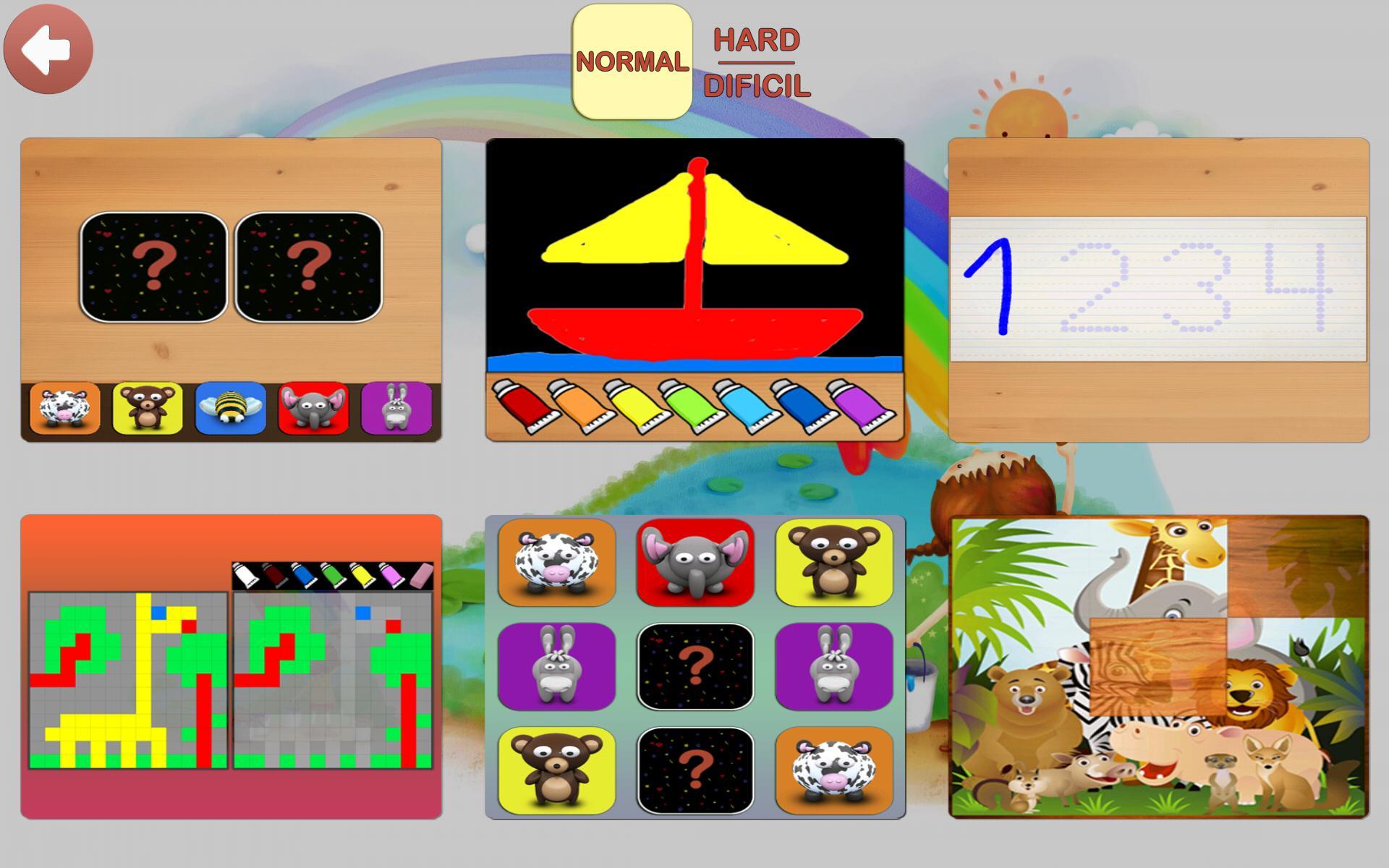 Enfants Jeux Éducatif Gratuit Pour Android - Téléchargez L'apk intérieur Jeux Educatif Enfant Gratuit