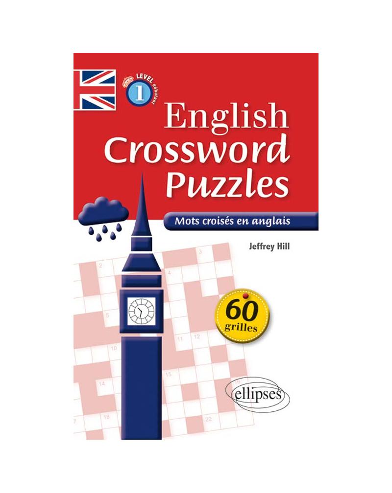 English Crossword Puzzles Level 1 - Mots Croisés En Anglais - Niveau 1  (A1-A2) pour Mots Fleches Niveau 1