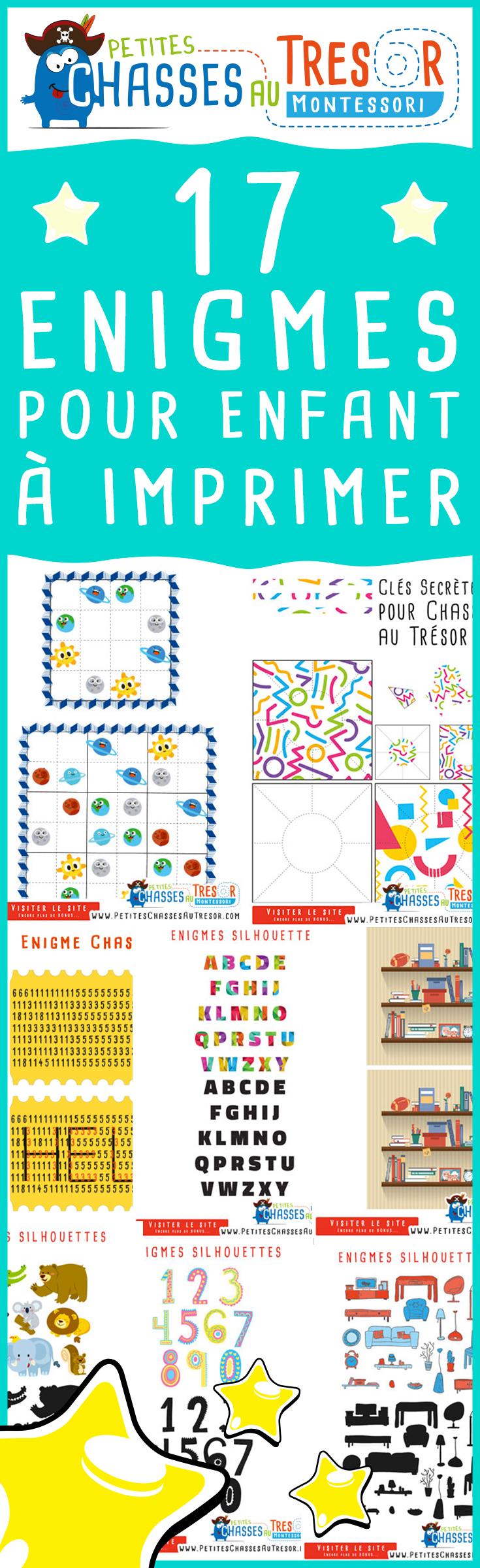 Enigmes Pour Enfants À Imprimer ! Des Activités De Reflexion tout Jeux Enfant De 5 Ans