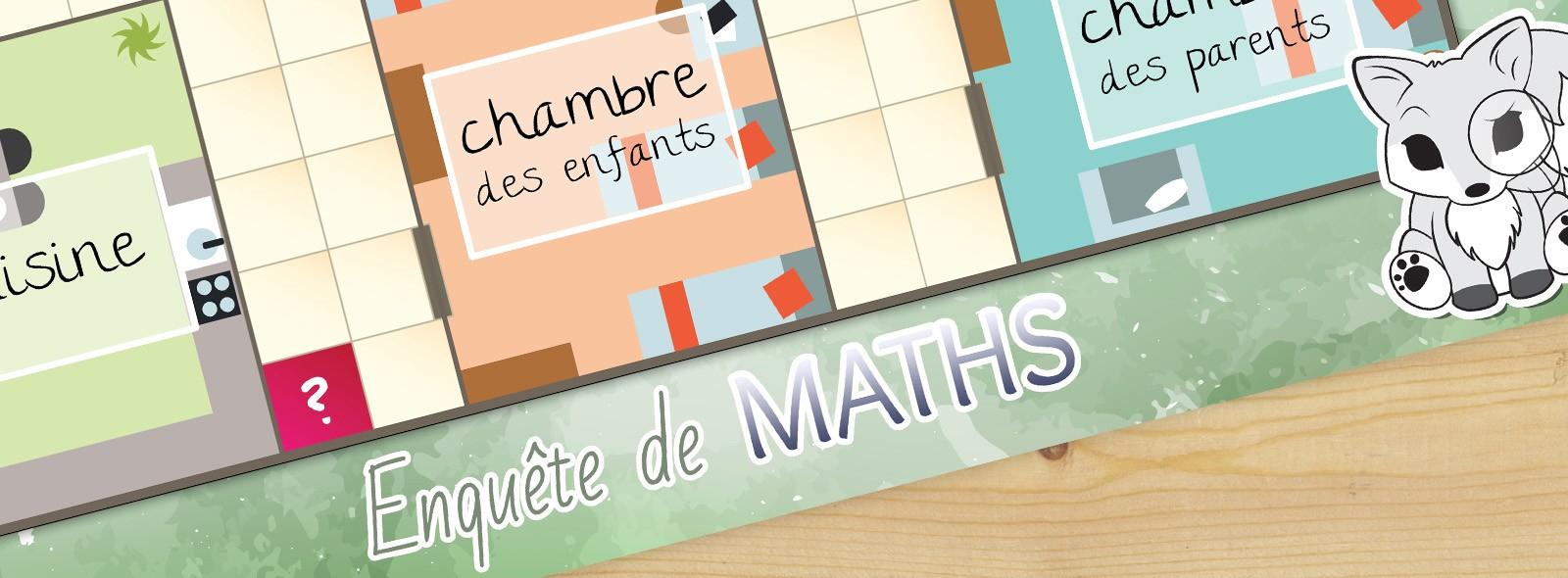 Enquête De Maths - Un Jeu Avec Des Problèmes Et Des à Jeux Educatif Ce1