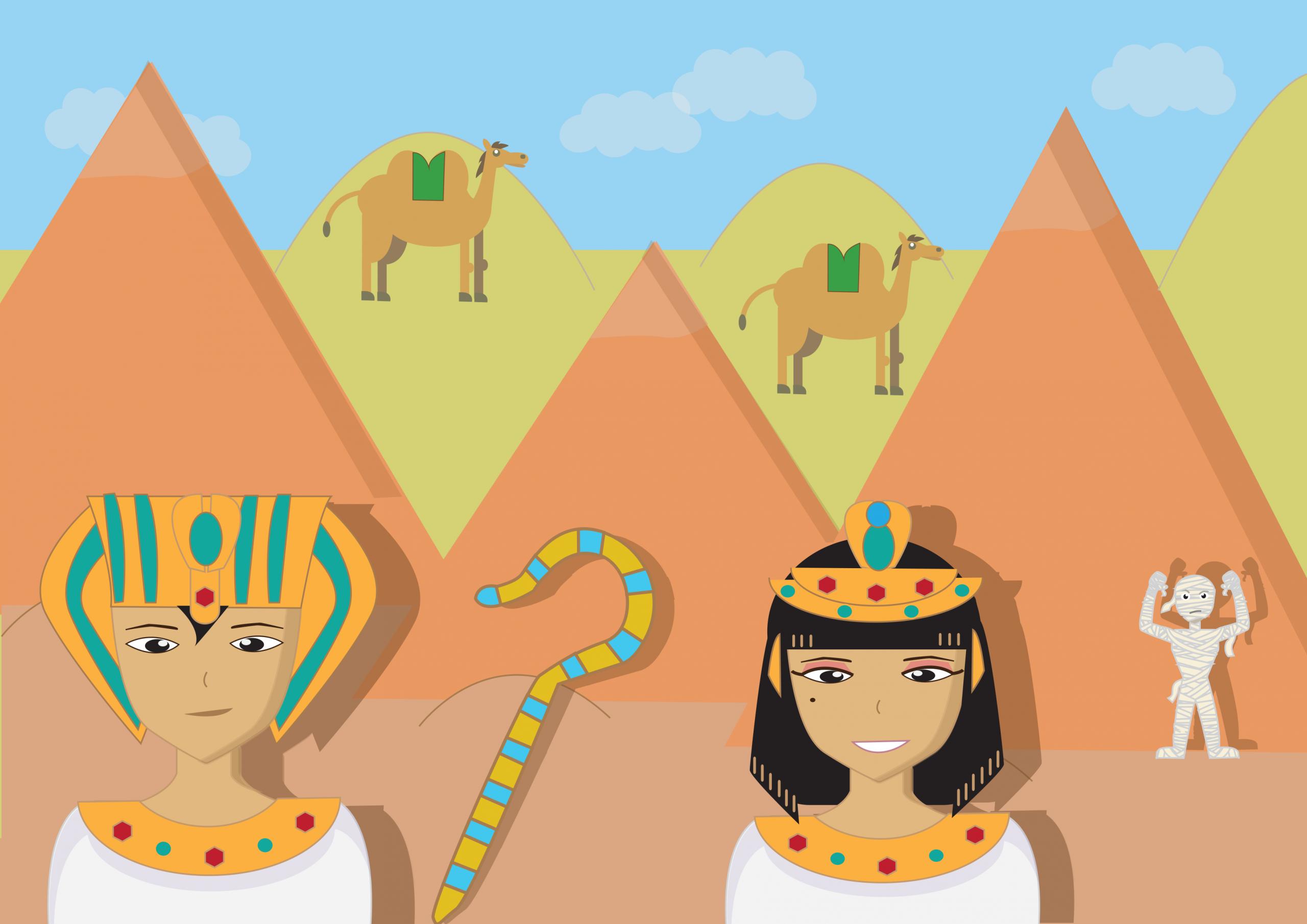 Enquête Policière En Égypte - Le Trésor Du Pharaon (7/9 Ans tout Jeux De Fille 9 Ans