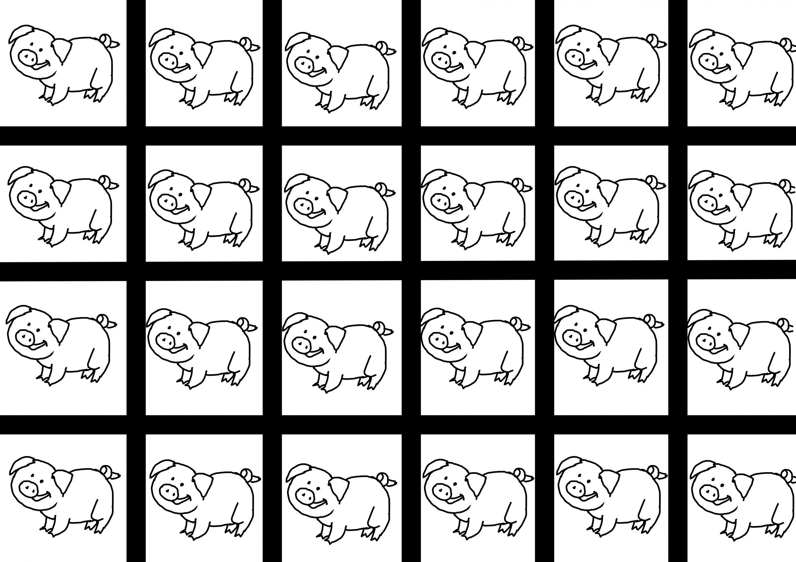 Entrainement Au Découpage Les Trois Petits Cochons – Le Plan B serapportantà Découpage Collage Maternelle À Imprimer