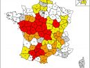 Environnement   Sécheresse : Nos Départements En Alerte destiné Carte De France Avec Départements Et Préfectures