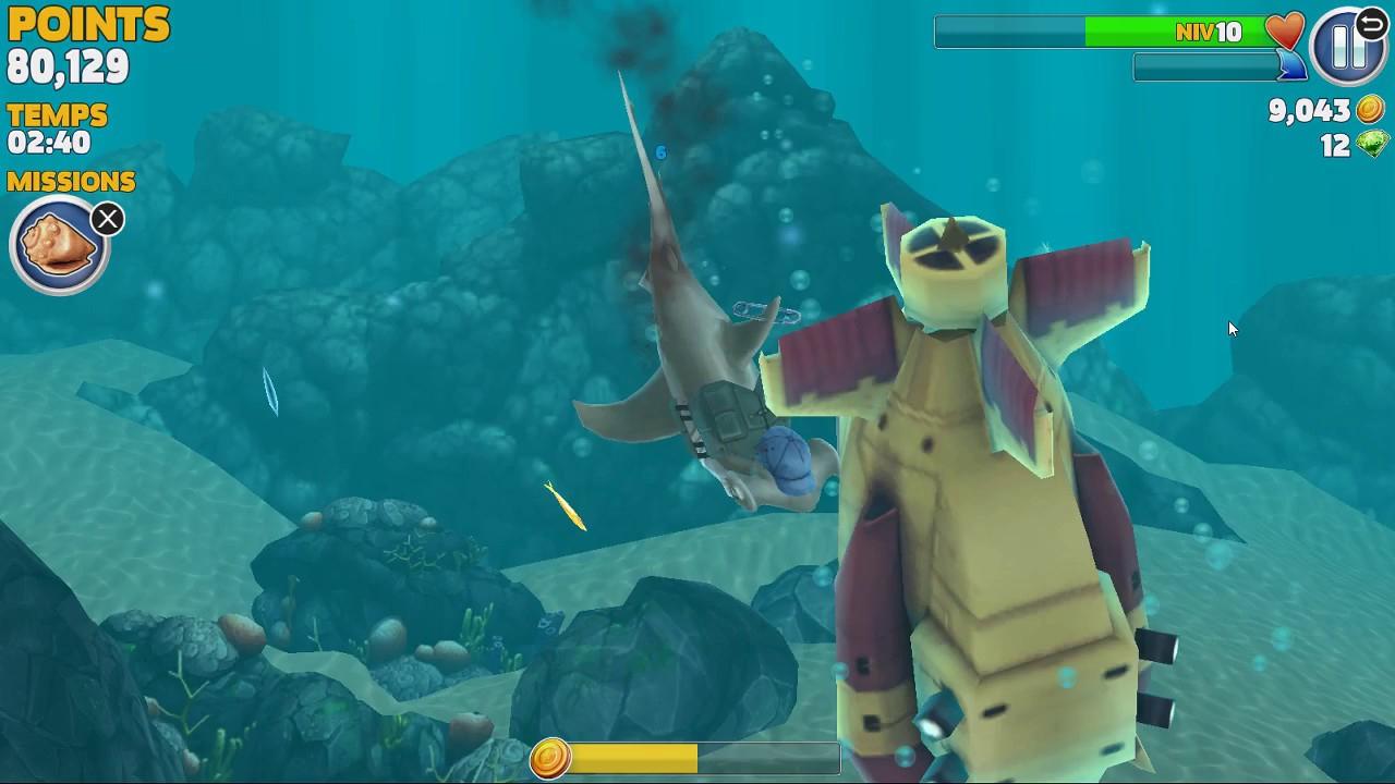 Ep 2 Sur Le Jeux De Requin concernant Requin Jeux Video