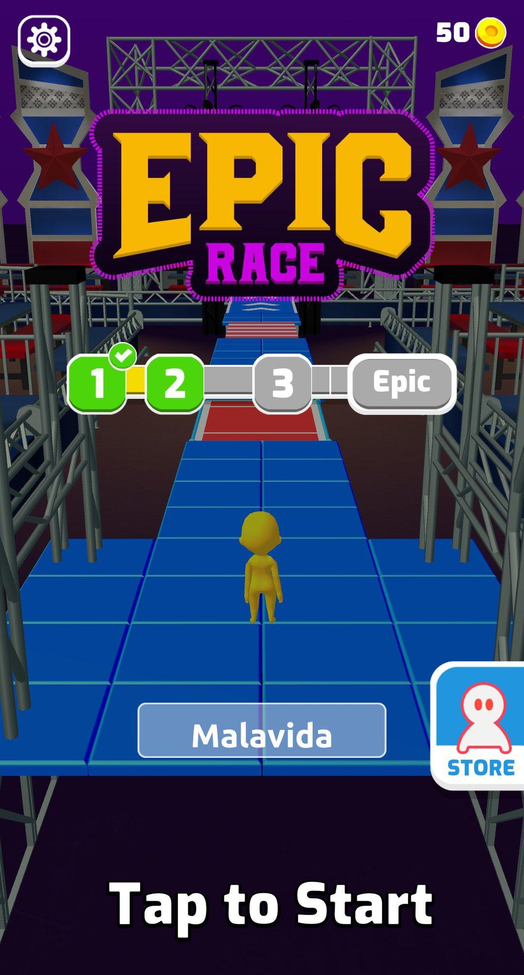 Epic Race 3D 1.1.1 - Télécharger Pour Android Apk Gratuitement dedans Plein De Jeux Gratuits