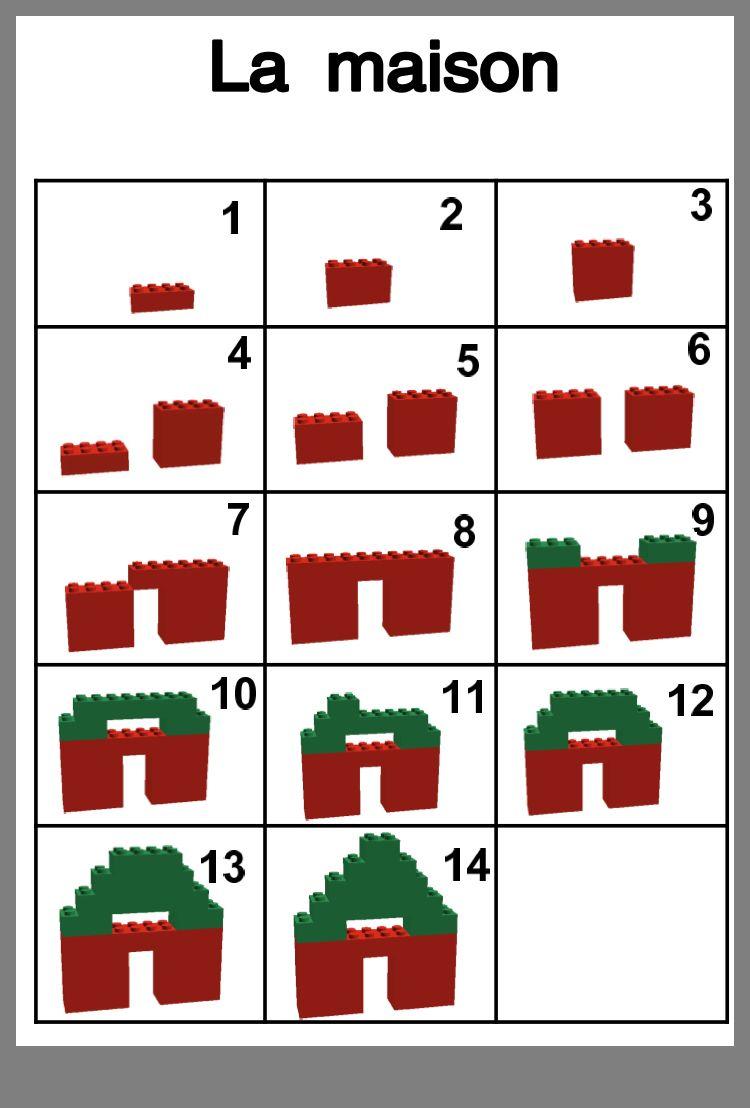 Épinglé Par Linda Roy Sur Construction, Légo, Kapla | Lego intérieur Jeux Ludique Maternelle