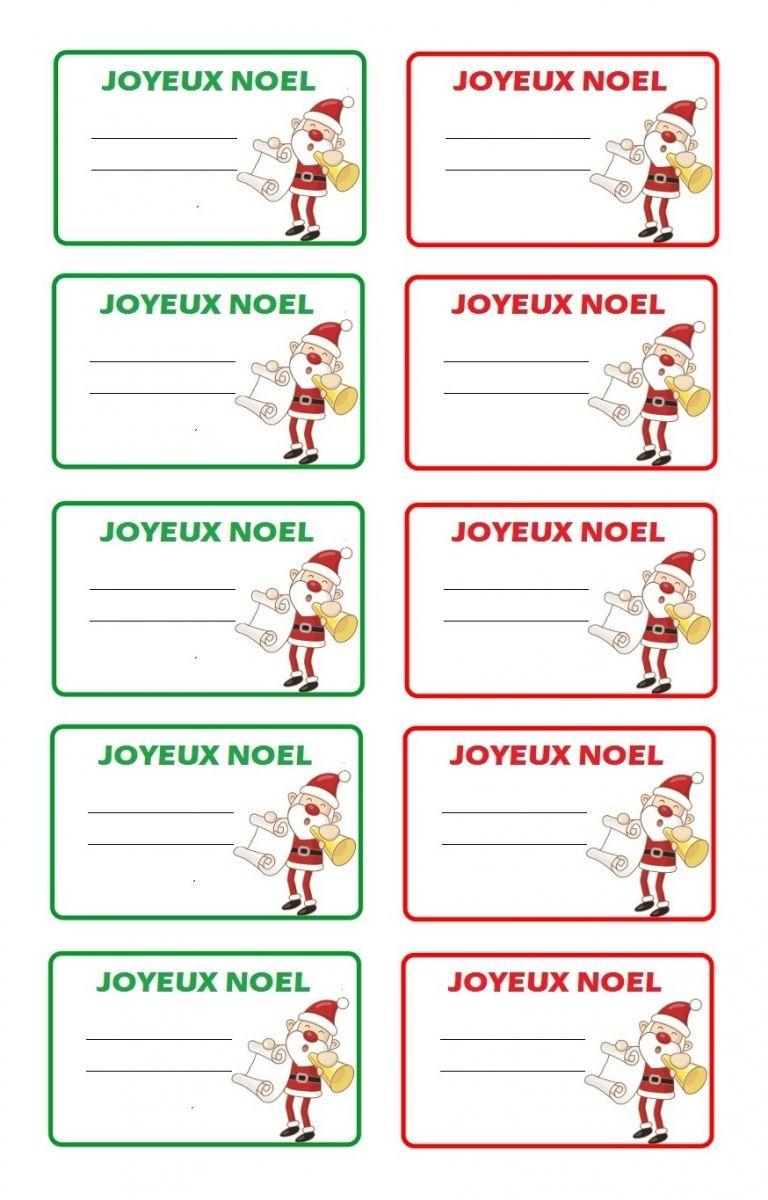 Épinglé Par Marina ♥♥♥ Sur Natal Xiii | Etiquettes Noel A destiné Etiquette Noel A Imprimer
