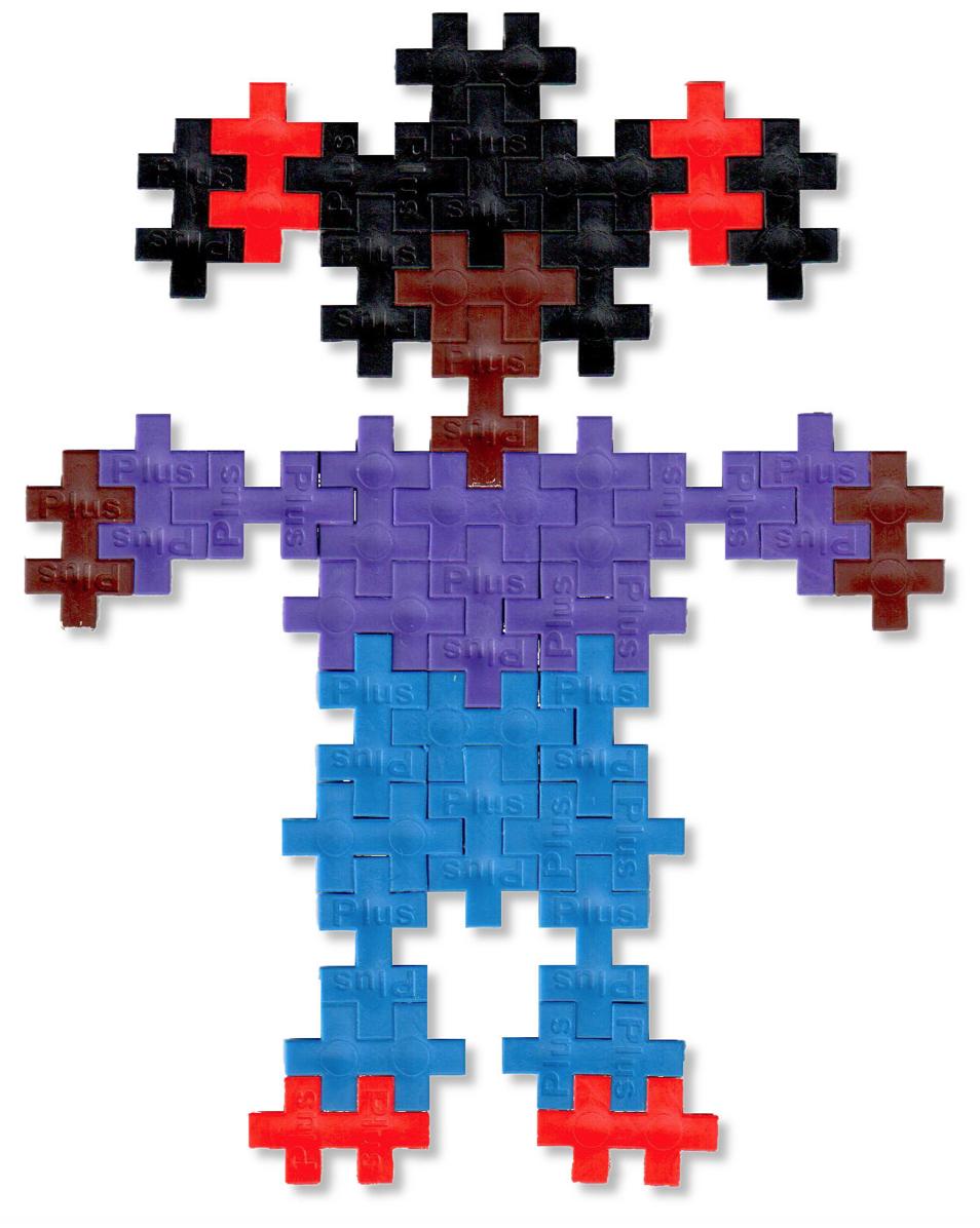 Épinglé Par Plus-Plus Usa Sur Mosaics | Plus Plus Modele dedans Casse Brique Enfant