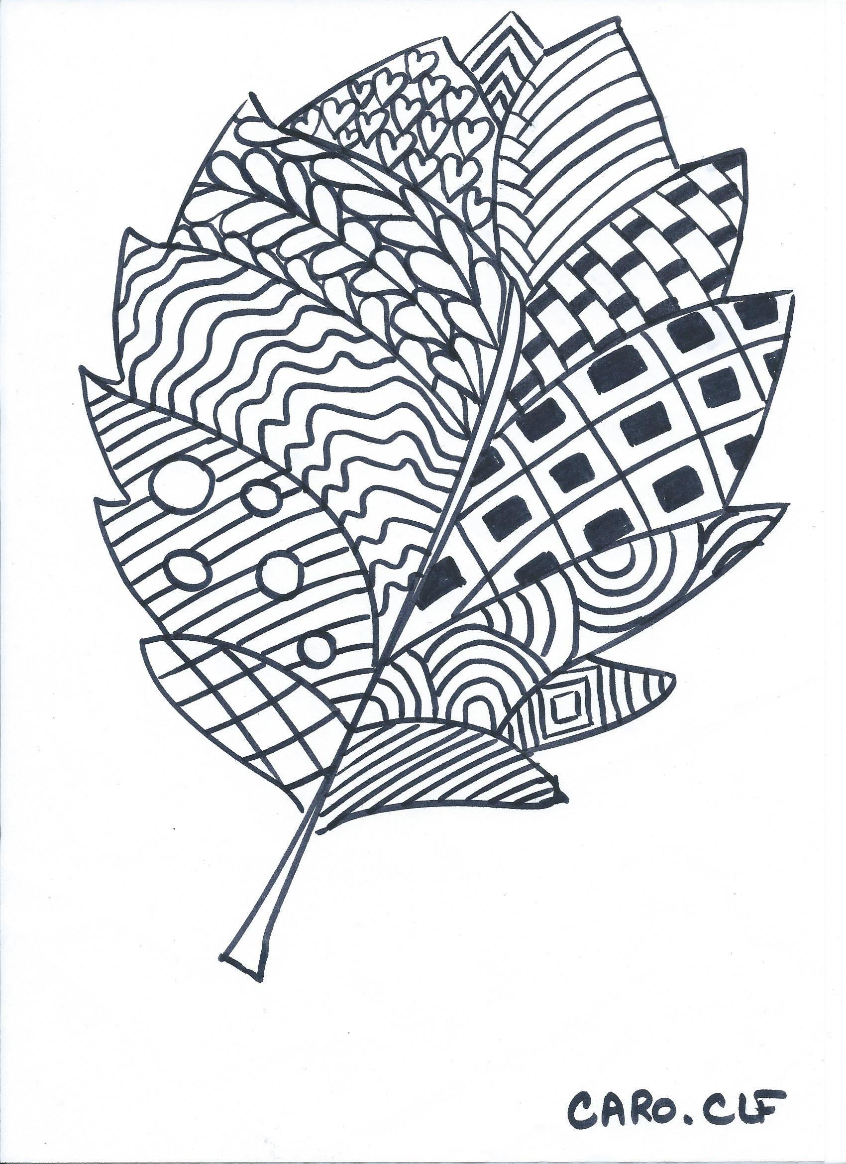 Épinglé Par Rabiaa Sur خريف | Coloriage, Coloriage Automne tout Dessin De Feuille D Arbre À Imprimer