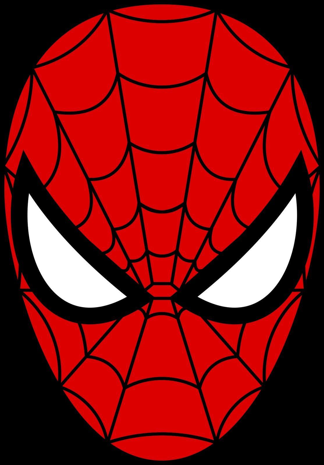 Épinglé Par Viot Sur Mes Enfants   Masque Super Héros, Carte intérieur Masque Spiderman A Imprimer