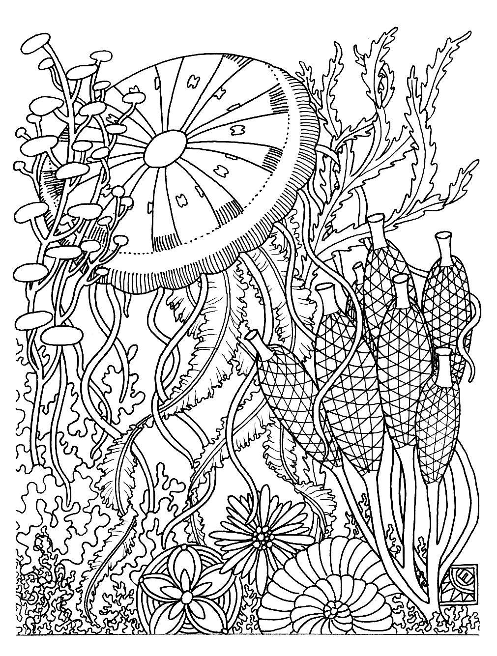 Épinglé Sur Adult Coloring Book pour Dessin A Imprimer Pour Adulte