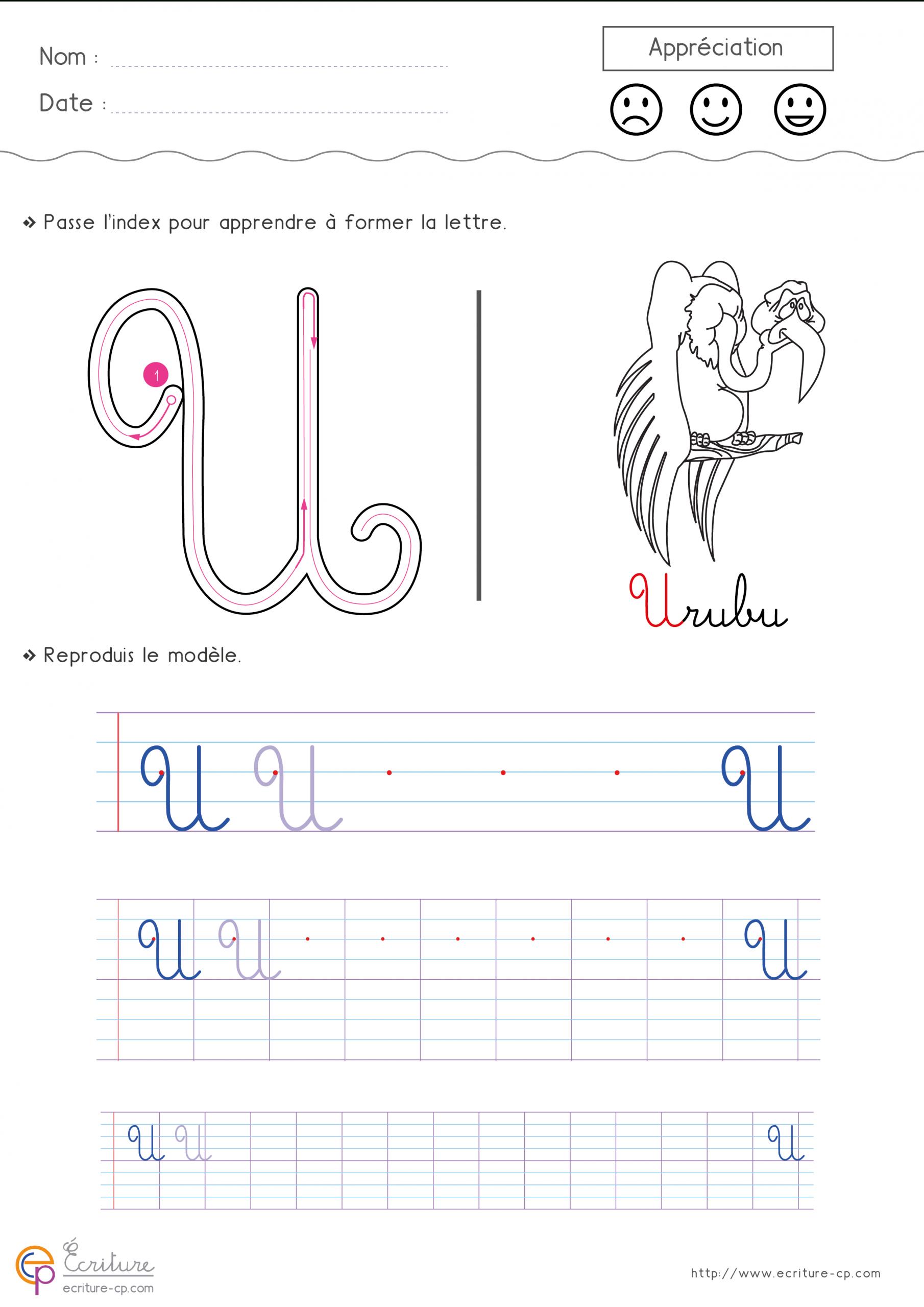 Épinglé Sur Apprendre À Écrire pour Apprendre A Écrire L Alphabet
