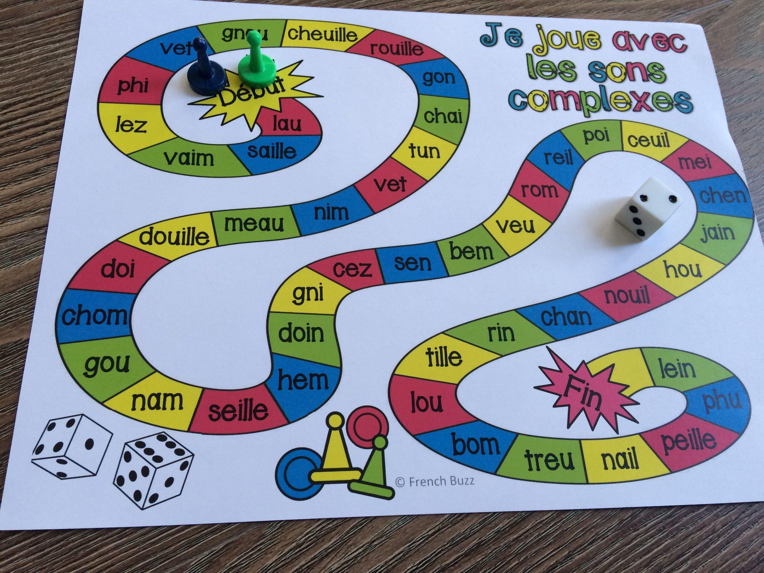 Épinglé Sur Boîte À Idées destiné Jeux Enfant Cp