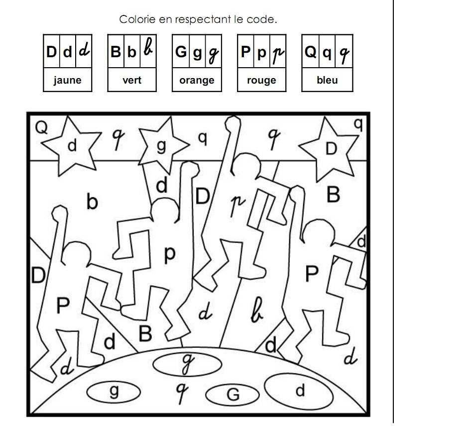 Épinglé Sur Coloriages Magiques avec Coloriage Magique Alphabet Cp