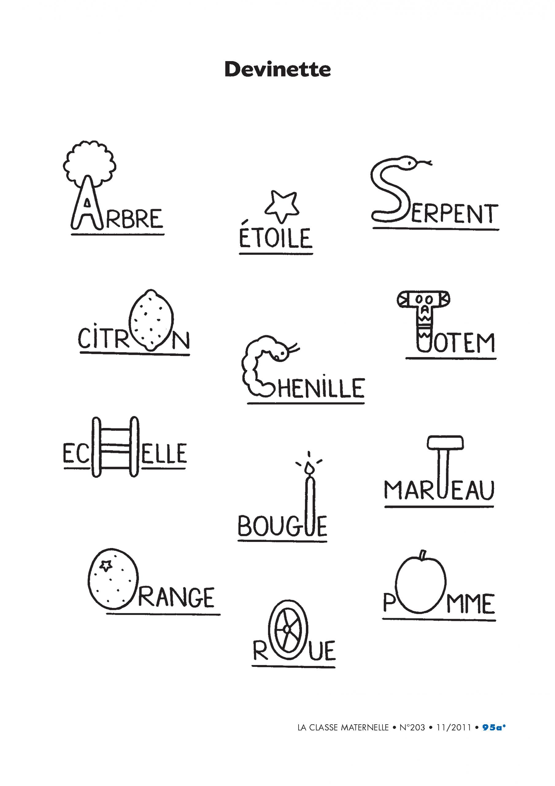 Épinglé Sur École dedans Apprendre L Alphabet En Francais Maternelle