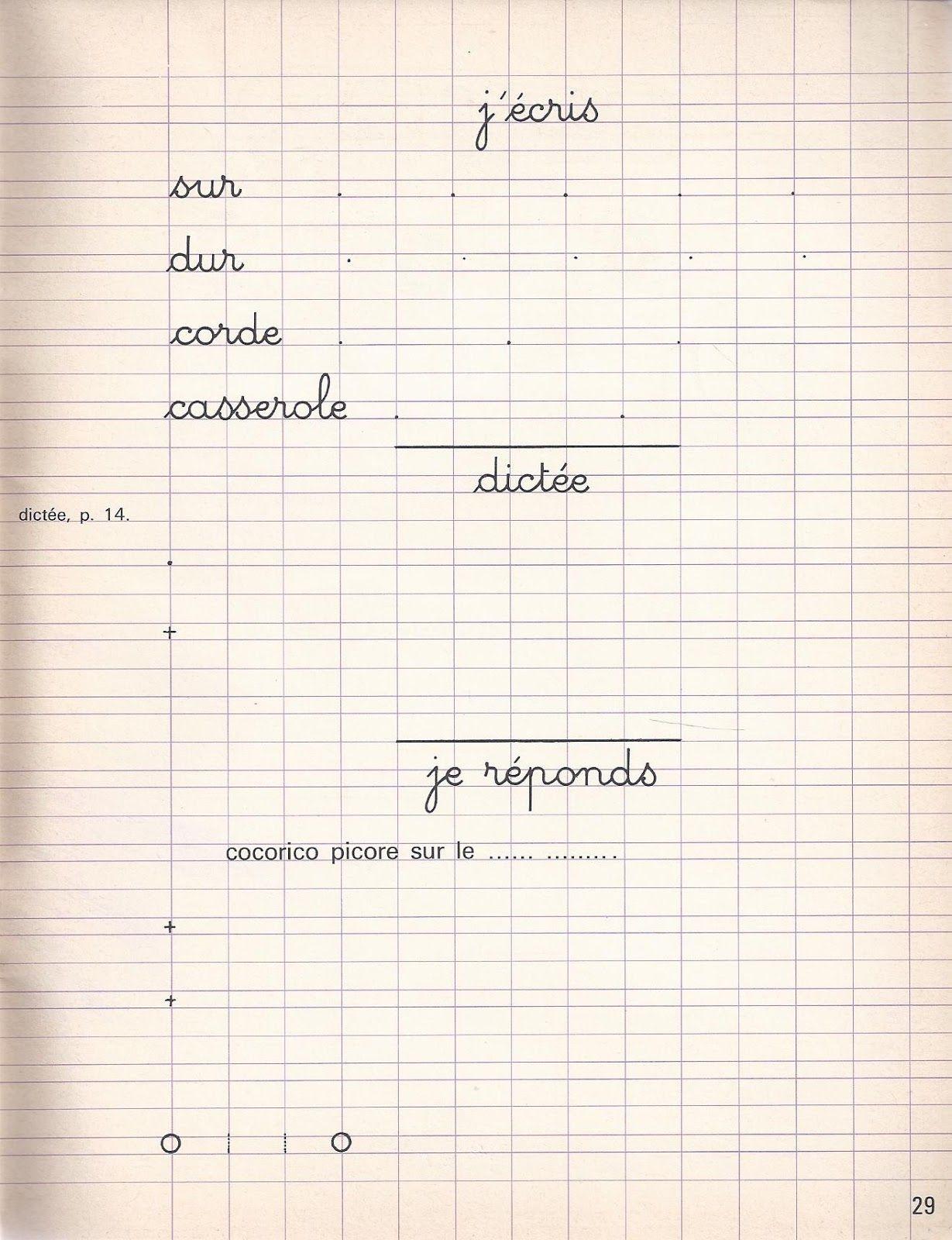 Épinglé Sur École pour Cahier D Écriture Cp À Imprimer