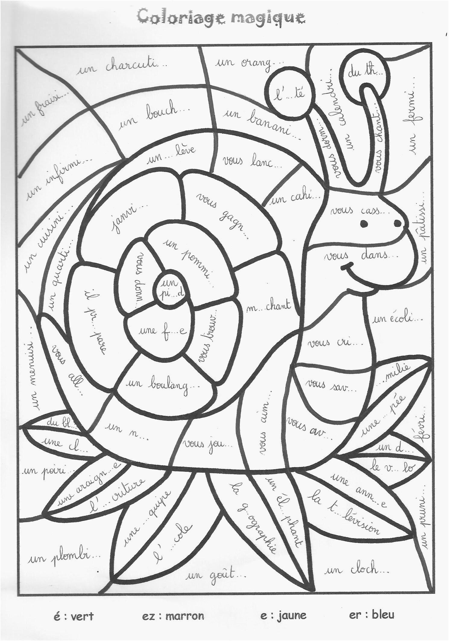 Épinglé Sur Livre De Coloriage avec Coloriage Magique Maternelle A Imprimer Gratuit