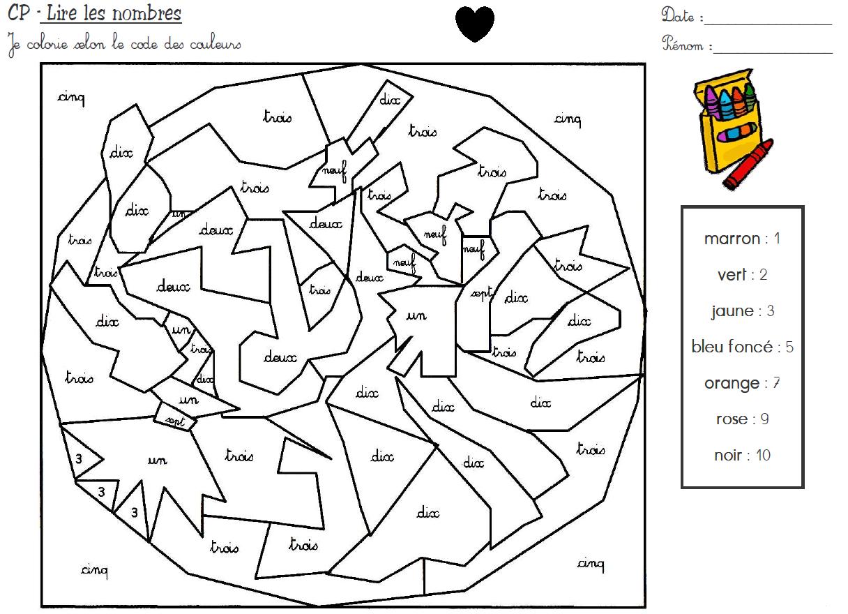 Épinglé Sur Maths destiné Coloriage Magique Alphabet Cp