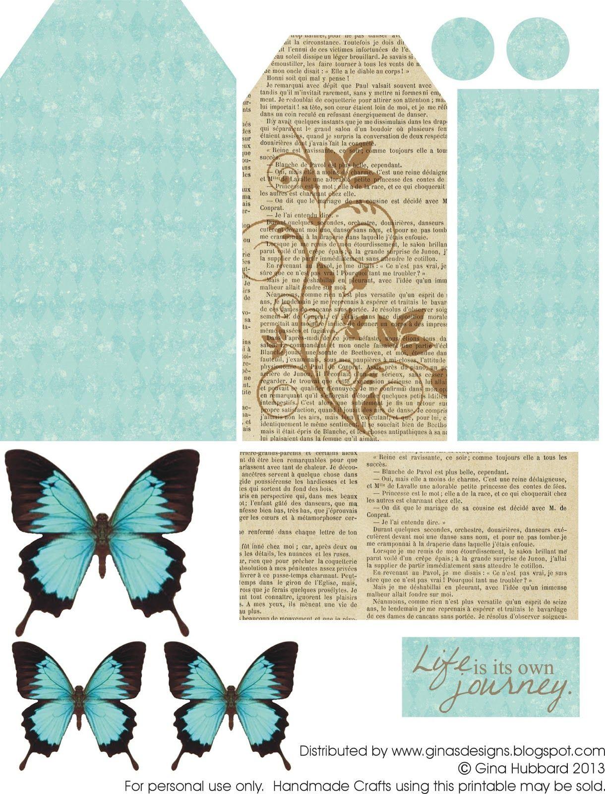 Épinglé Sur Scrap destiné Etiquette Papillon A Imprimer