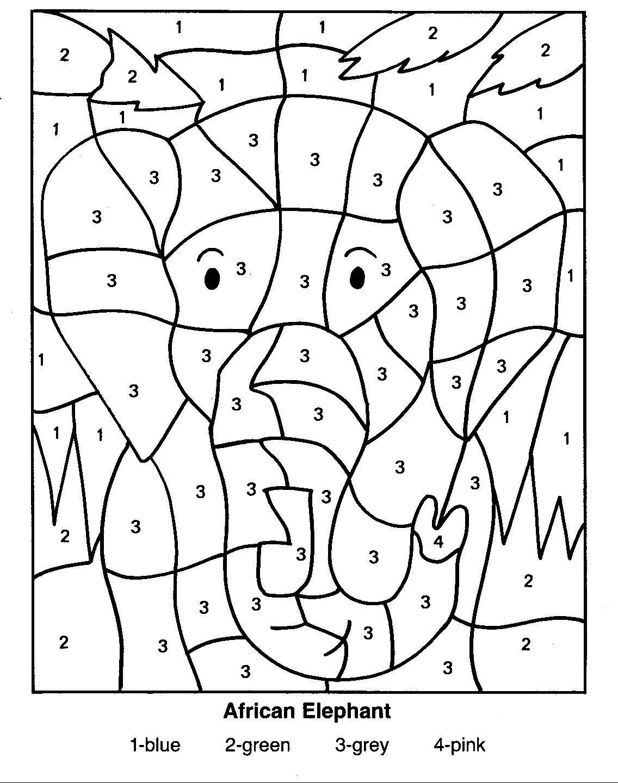 Épinglé Sur Worksheets destiné Coloriage Numero A Imprimer
