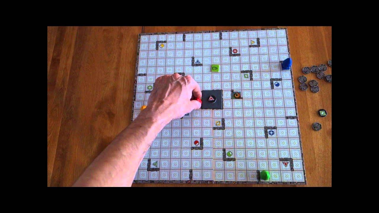 Episode 2- Présentation Du Jeu Rasende Roboter (Ricochet Robot) pour Ricochet Jeu