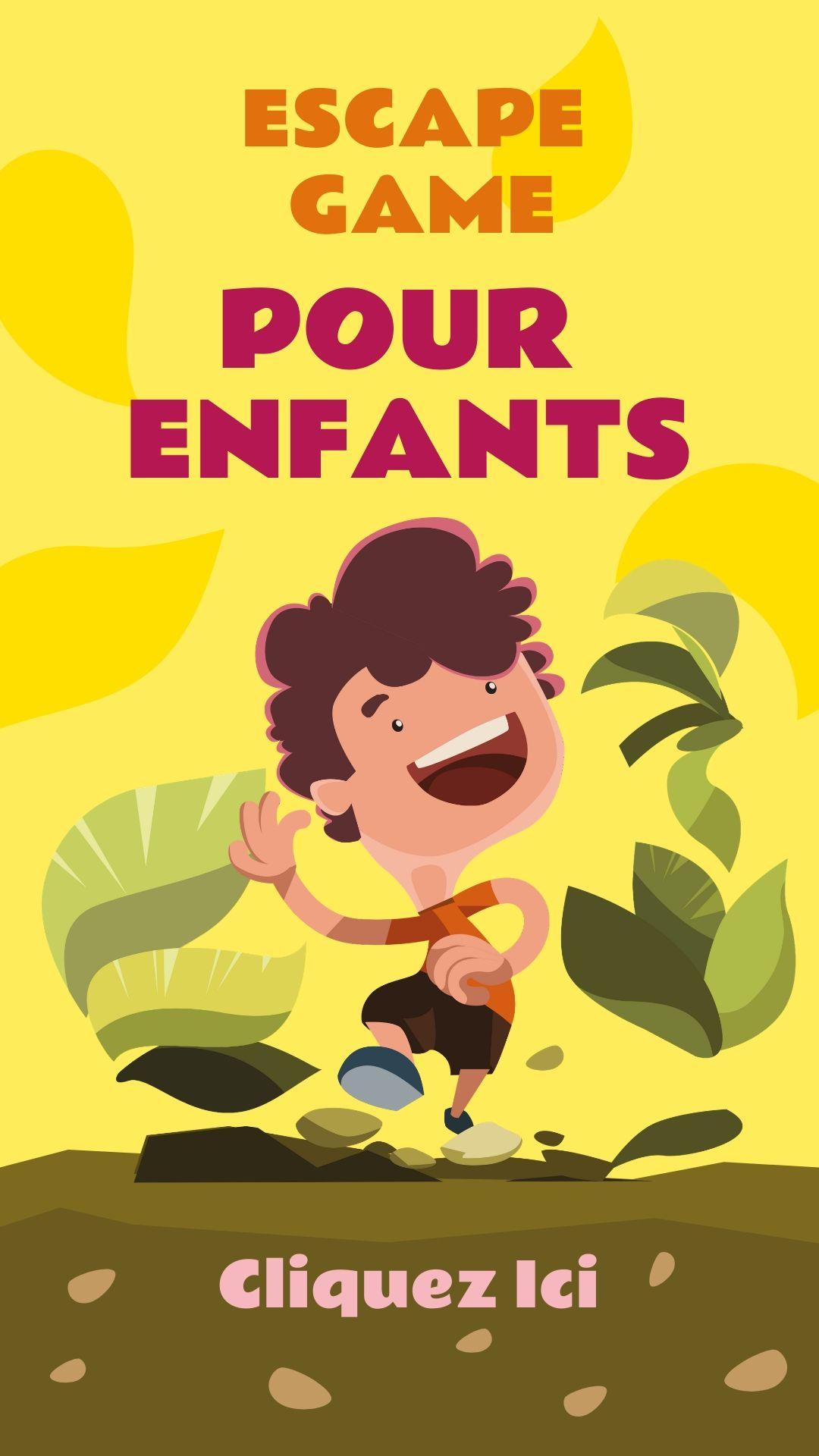 Escape Game Et Escape Room Pour Enfants De Tout Age. 5, 6, 7 avec Jeux Pour Enfant 7 Ans