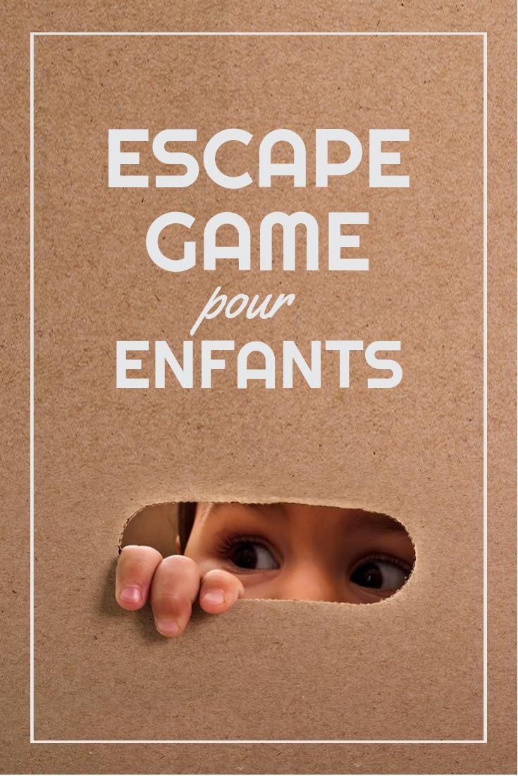 Escape Game Pour Enfants À Faire La Maison ! #enfants #diy intérieur Jeux Gratuit Facile Pour Garcon